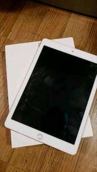 white iPad with black case Arlington