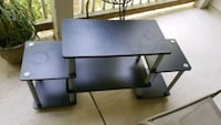 black and gray TV stand Fairfax, 22033