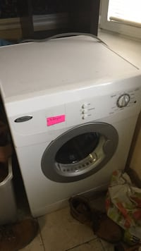 white LG front-load clothes washer Lawrenceville, 30044
