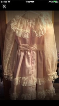Toddler Pink white Lace Size 4-5 Years Toronto, M4A 1T7