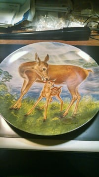 Knowles Deer Collector Plate Centreville, 20120