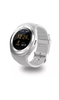 New smart watch works with iPhone Samsung lg htc bnib with sd card 256mb Toronto, M9L 2H8