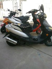 3 Scooters 49/50cc motor