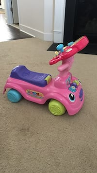 toddler's pink and purple ride-on toy Adamstown, 21710