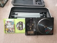 black DJ hero game controller with game case Bondurant, 50035
