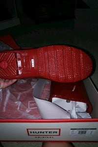 red-and-white Adidas low-top sneakers Houston, 77095
