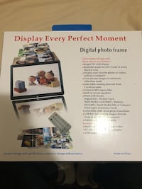 Digital photo frame got it from Amazon Hyattsville, 20783