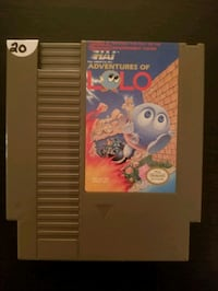 The Adventures of Lolo for Nintendo NES  Vaughan, L4L