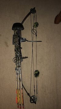 Left handed compound bow Bunker Hill, 25413