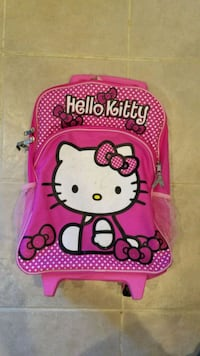 Hello Kitty backpack on wheels  Springfield, 22153