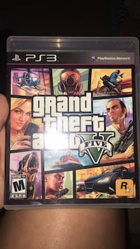 Sony ps3 grand theft auto five Dardenne Prairie, 63368