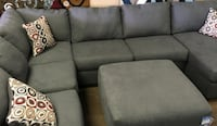 Large Gray Sectional Metairie