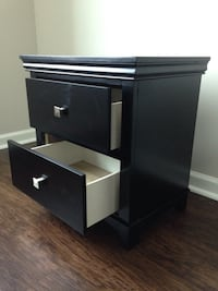 New Espresso Nightstand(s) Silver Spring