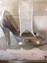 Happily ever after shoe bottle opener