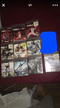 PS3 Games ($10 each) Placentia, 92870