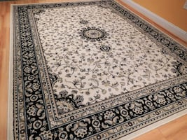 Traditional Area Rugs Cream Persian Rugs 5x8