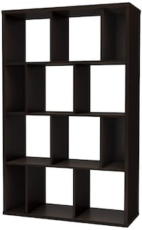 South Shore Bookcase(s), Chocolate (61.5 x 38.75 x 14.5 in.) Chevy Chase