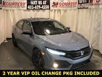 2018 Honda Civic Hatchback Sport Touring, winter rubber included Calgary