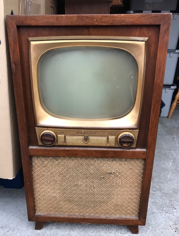 Used Admiral TV Vintage 50's for sale in Burlington - letgo