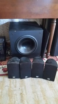 black 4.1 speaker system Freeport, 61032