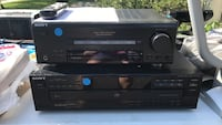 Sony receiver and 5 cd changer Centreville, 20120