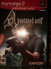 Resident Evil 4 Sony PS2 game n case Hagerstown, 21740