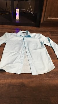 white button-up long-sleeved shirt Odessa, 79761