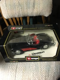 Black and red car scale model Villa Park, 60181