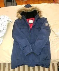 blue and brown zip-up parka jacket Toronto, M3M 3J8