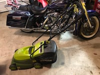Sunpro electric bagger mower Chantilly, 20152