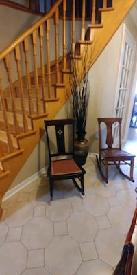 Wood rocking  chair one 30 two50 Mississauga