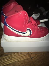 Red,white,blue forces
