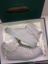 Buscemi 100MM High Top Pebbled  Sneakers size 43