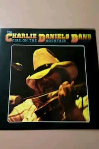 "Charlie Daniels ""Fire on the Mountain"" vinyl album La Plata, 20646"