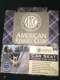 Never used- car seat cover for dogs ( water resistant)  High Point, 27260