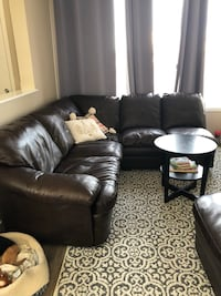 """Brown """"Leather"""" Couch Calgary, T3M 2B9"""