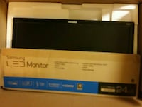 black Samsung LED monitor package Bridgeport, 06608