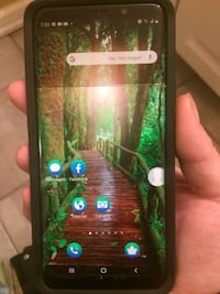 SAMSUNG GALAXY S9 PLUS WITH OTTER BOX