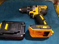 Dewalt 20v XR Brushless 1/2in drill with battery.  Corona, 92883