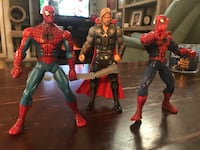3 Six Inch Action Figures 2 Spider-Man and 1  Simi Valley, 93065