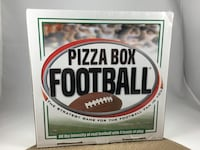 NIB PIZZA BOX FOOTBALL, Strategy game for Football enthusiasts Chesapeake, 23320