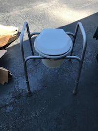 black and white commode chair Crown Point, 46307