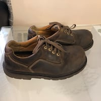 Safety shoes for man size 9.5W fit 10 Hamilton, L8V