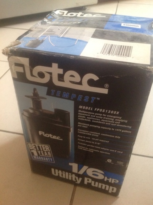 Unused Flotec Pump c6c9a88c-f872-438c-80be-f3039a210f2c