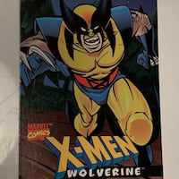 Marvel Comics Wolverine Trading Card - Captain Crunch Promo (1996)