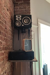 JBL speakers and Yamaha sound reciever New York, 11213