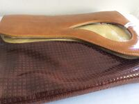 Fluvog Leather Clutch Bag with tags Vancouver