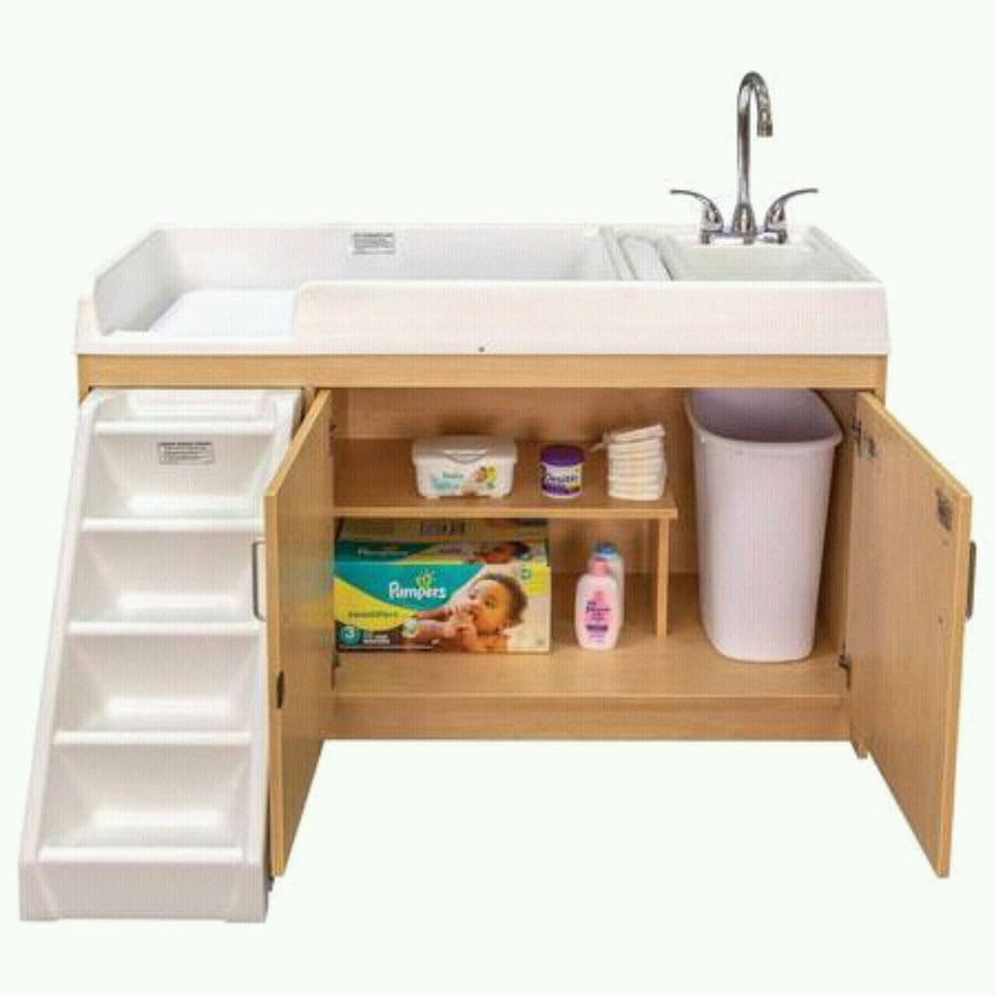 Infant Changing Table W/ Sink by Tot-Mate Daycare Preschool