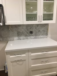 Herringbone backsplash tiles Oakville, L6H 6Z3