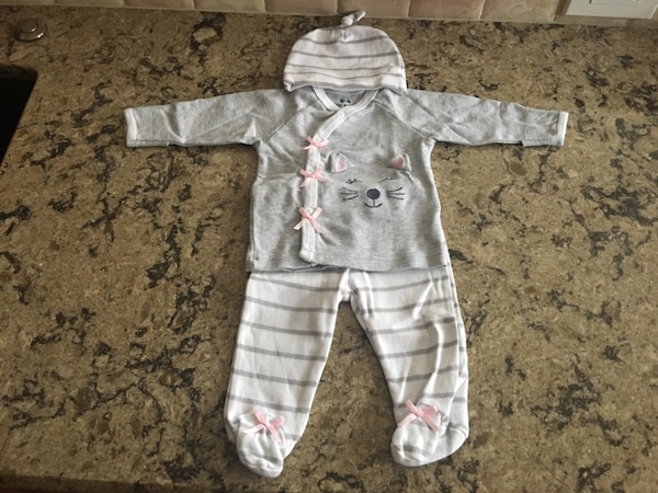 79d8cbfad343 Used NEW Baby Girl Newborn Kitty Outfit for sale in Arvada - letgo
